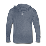 She Is Fierce Women's Tri-Blend Hoodie Shirt - White Logo - Favoured Tees
