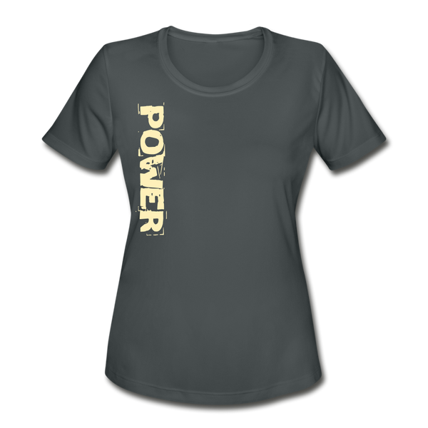 Power & Strength Women's Moisture Wicking Performance T-Shirt - Favoured Tees