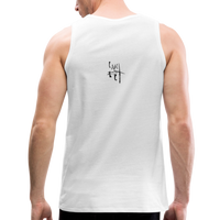 Run Junkie Men's Premium Tank - Black Logo - Favoured Tees