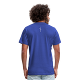 I Am Fit Unisex Jersey T-Shirt by Bella + Canvas - royal blue