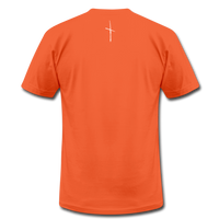 I Am Fit Unisex Jersey T-Shirt by Bella + Canvas - orange