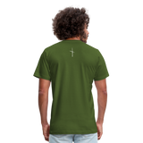 I Am Fit Unisex Jersey T-Shirt by Bella + Canvas - olive