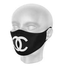 Load image into Gallery viewer, Chanel mask, Chanel face mask, mouth mask