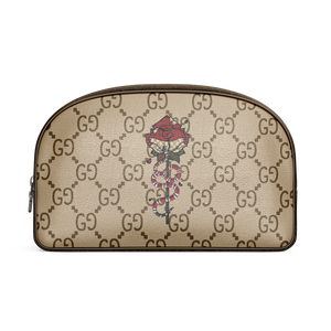 gg flower cosmetic Purse, gucci Flower Purse, gucci makeup bag, gucci flower bag