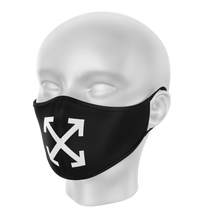 Load image into Gallery viewer, Custom Off-White Face Mask