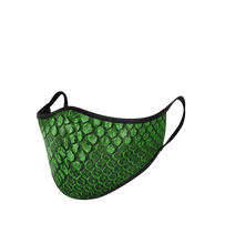 Load image into Gallery viewer, snakeskin mask, snakeskin face mask, snakeskin mouth mask, snakeskin dust mask