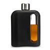 Black Silicone Glass Flask 240mL
