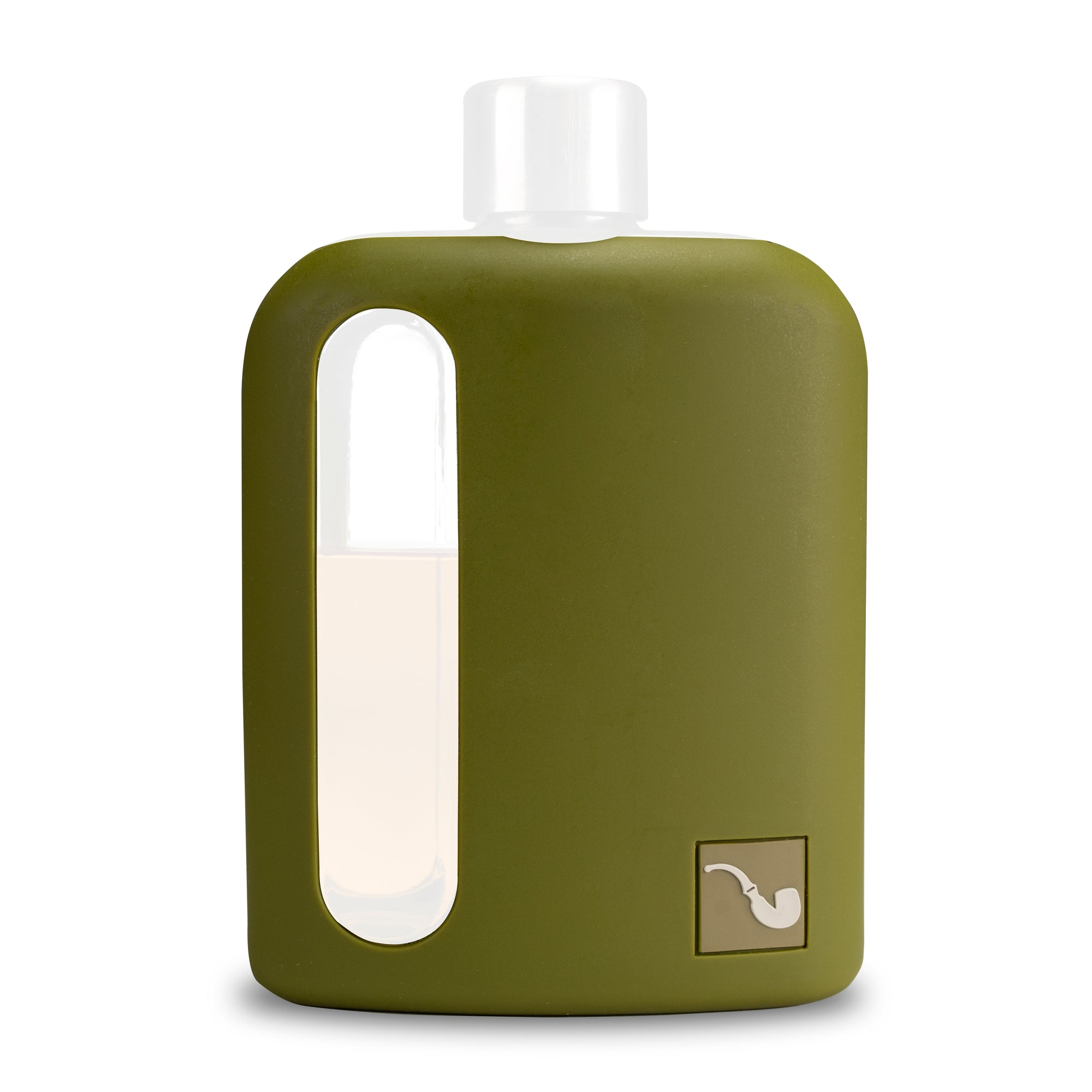 Military Green Silicone Sleeve 240mL