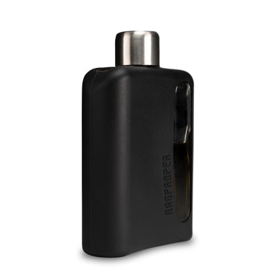 Black Silicone Glass Flask 100mL