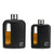Black Silicone Glass Flasks 100mL + 240mL