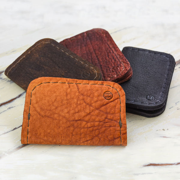 Coming Soon - Grassfed Leather Card Wallets