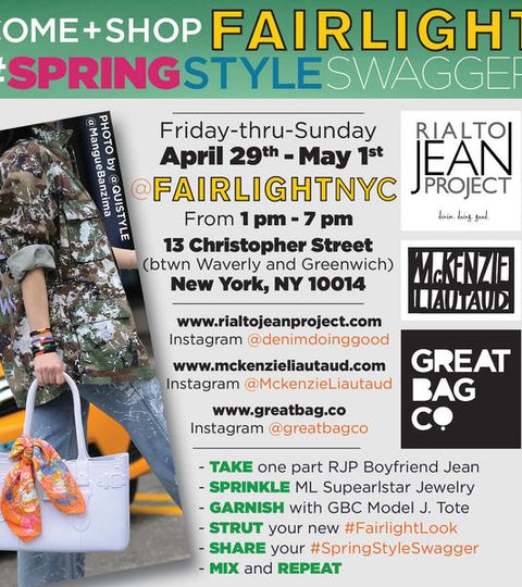 Spring Pop Up at Fairlight NYC