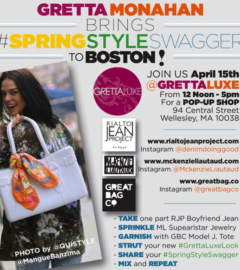 Grettaluxe Pop Up: Spring Style in Boston