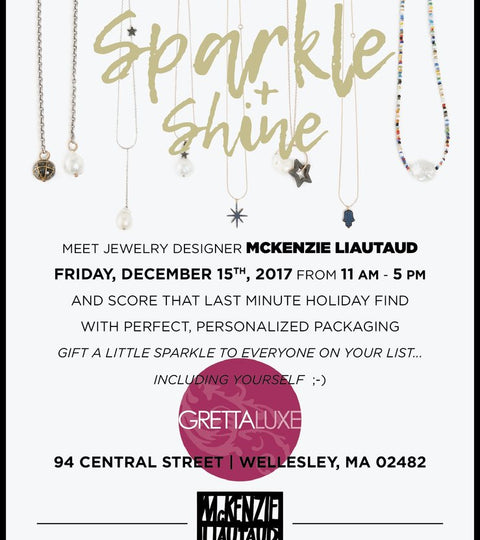 Meet Us at Grettaluxe for Some Sparkle and Shine!
