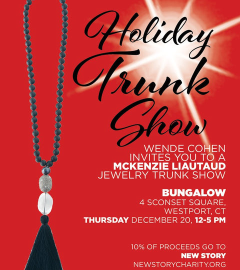 TRUNKSHOW: Holiday Trunk Show at Bungalow