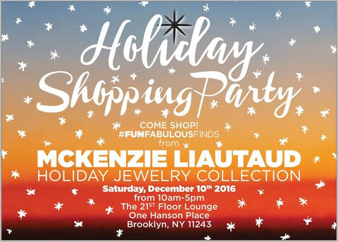 Holiday Shopping Party!