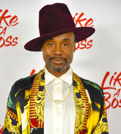 Billy Porter wears Mckenzie Liautaud Jewelry to the Like a Boss Premiere in NYC