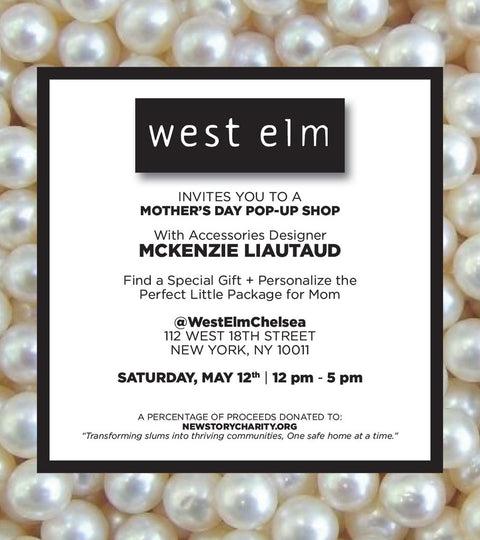 WEST ELM to Host a Mother's Day Pop Up