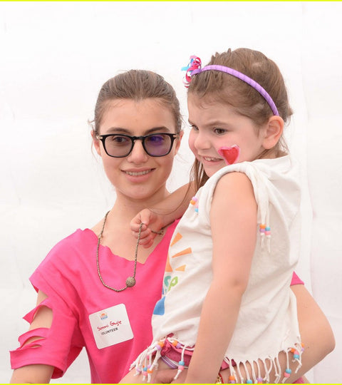 Sami Gayle sparkles at the Sunrise Day Camp's 2016 Annual Carnival