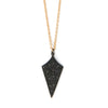 Black Spinel Talisman Necklace