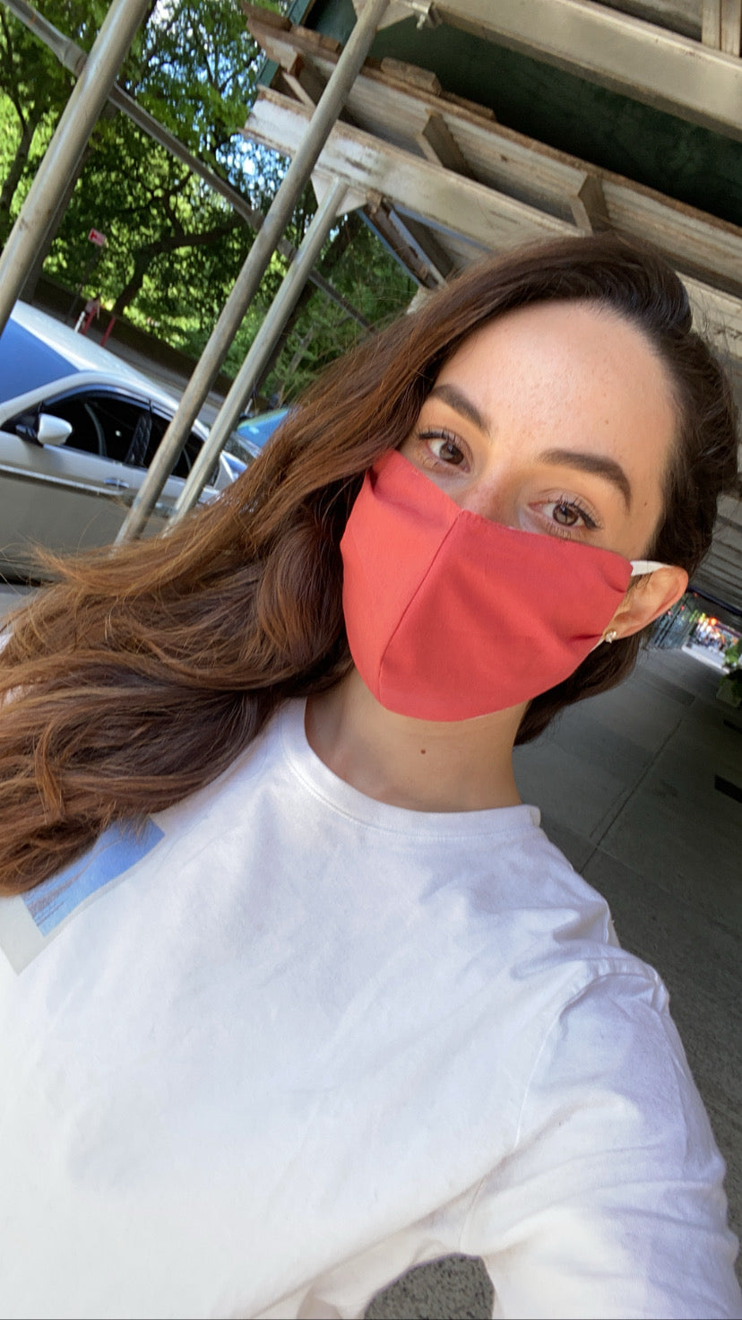 ML Protective Face Masks Solid  Summer Essentials  ( Buy 7 + Donate 7) 3RD DROP