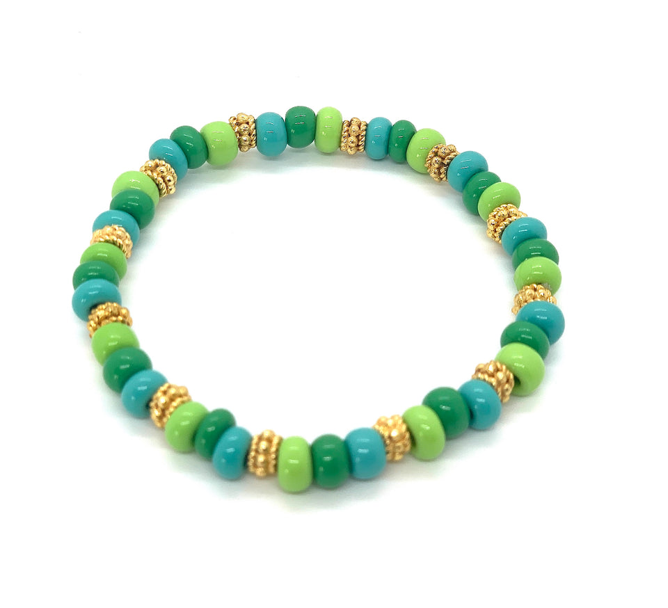 ML Green Stretch bracelet