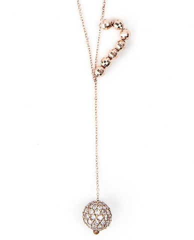 White  Diamond Supearlbling Necklace