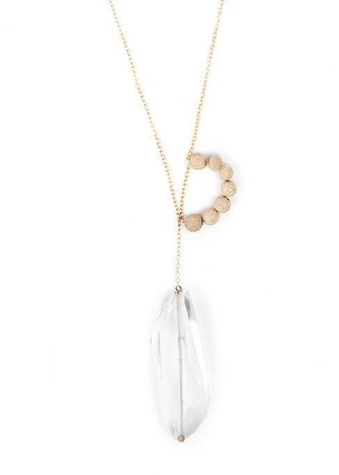 Crystal  Supearlbling Necklace