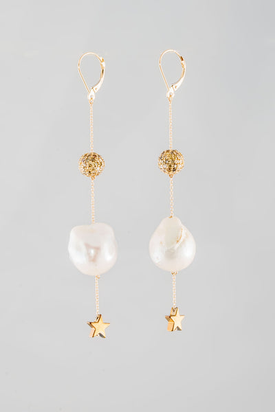 Yellow Diamond Supearlstar Earrings