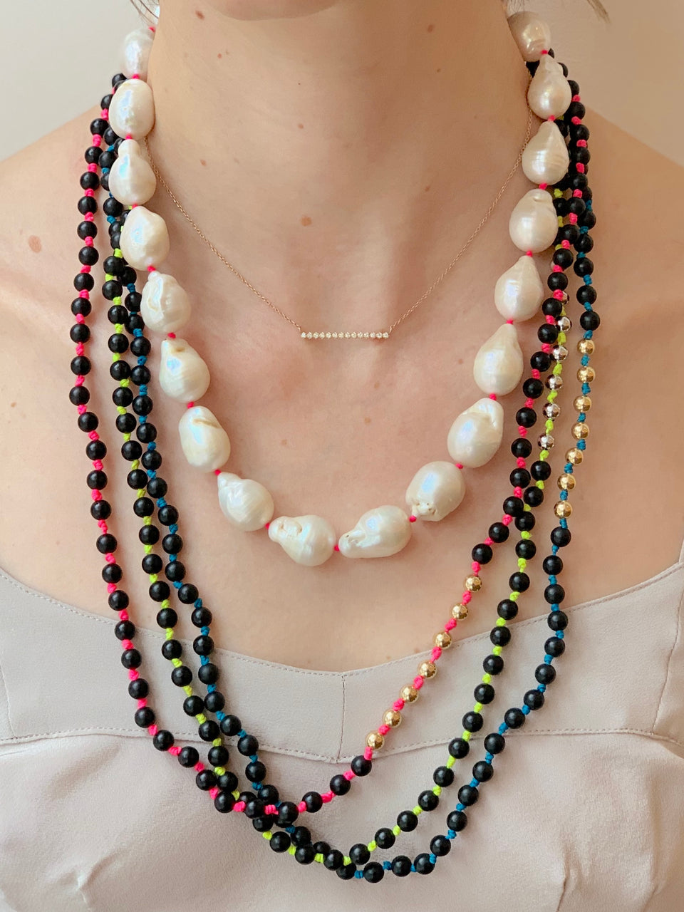 Powerful Pearls Necklace