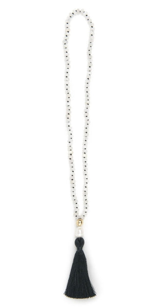 Moonstone Mala Mala Necklace