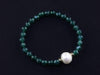Green Agate Supearlglam bracelet