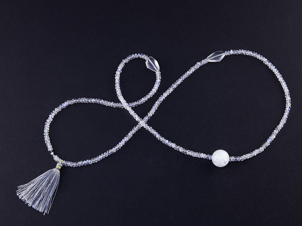 9. Moonstone necklace