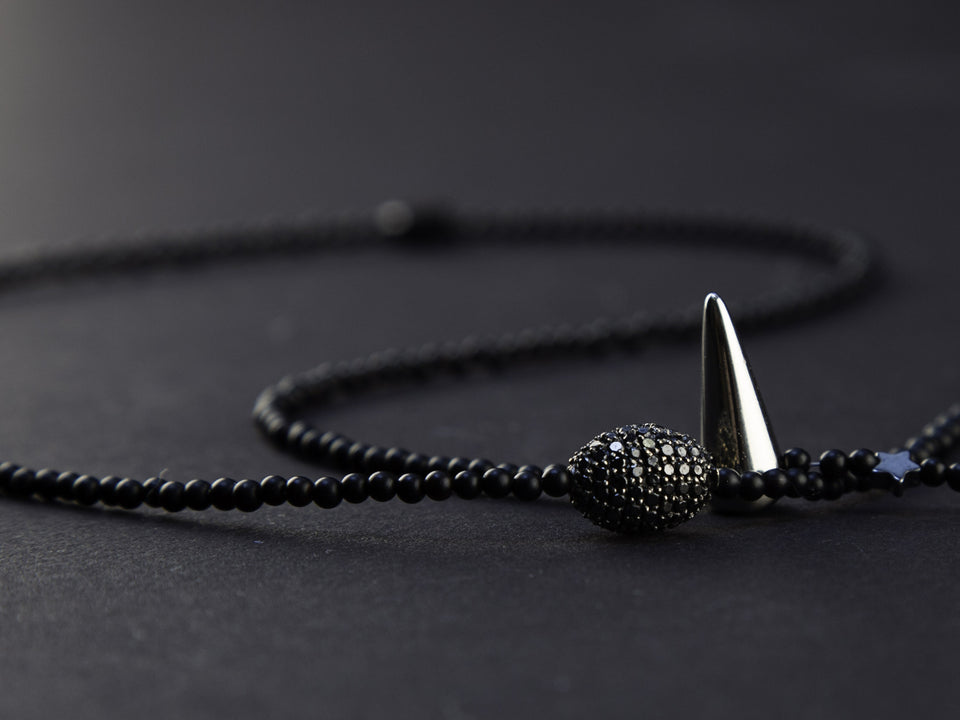 Self Mastery Diamond Necklace