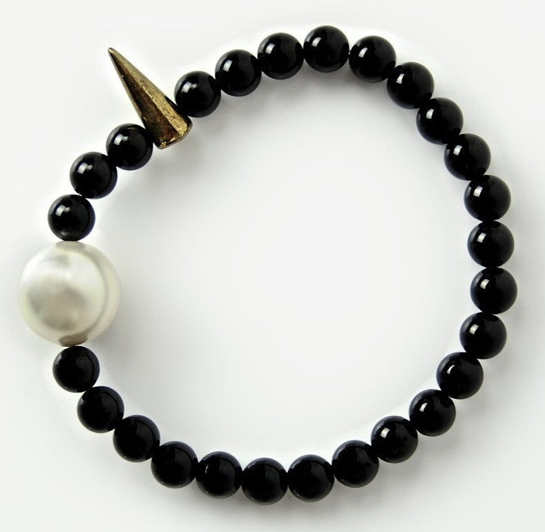 Black Sugar and Spike Bracelet