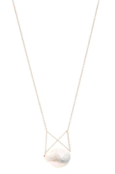 Cris Cross Supearlstar Necklace