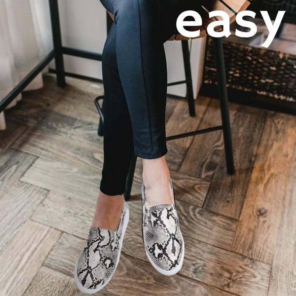 AZZY Premium Orthopedic Leopard Loafer, Genuine Orthopedic Comfy Leather Loafer, Foot Pain Prevent Loafer