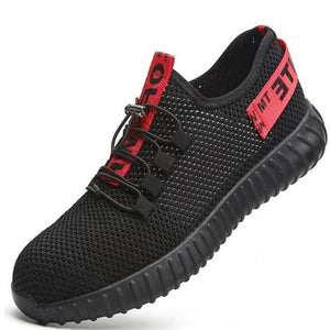 COSY Lightweight Indestructable Safety Shoes, Puncture Resistant Comfy Waterproof Work Shoes 2019 model