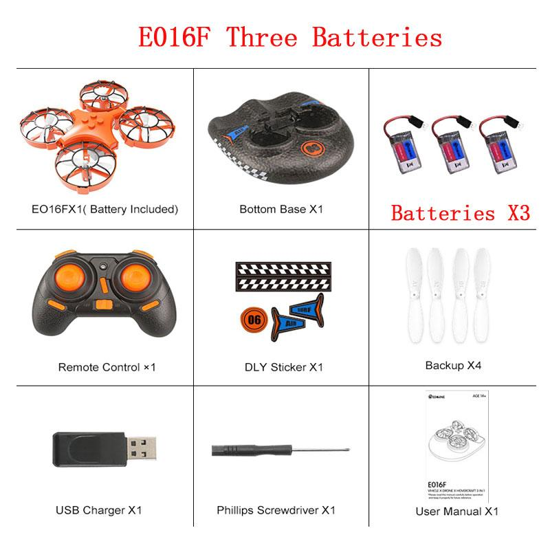3-in-1 SEA AIR LAND Quadcopter Induction Mini Drone Flying Air Boat Land Detachable Drone, 2020 Design