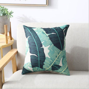 LEAF Pillow Cover | Natural Pattern | Leaf Pattern | Gift for Him | Throw Pillow | 18 x 18 Pillow | Home Decor | Boyfriend Gift