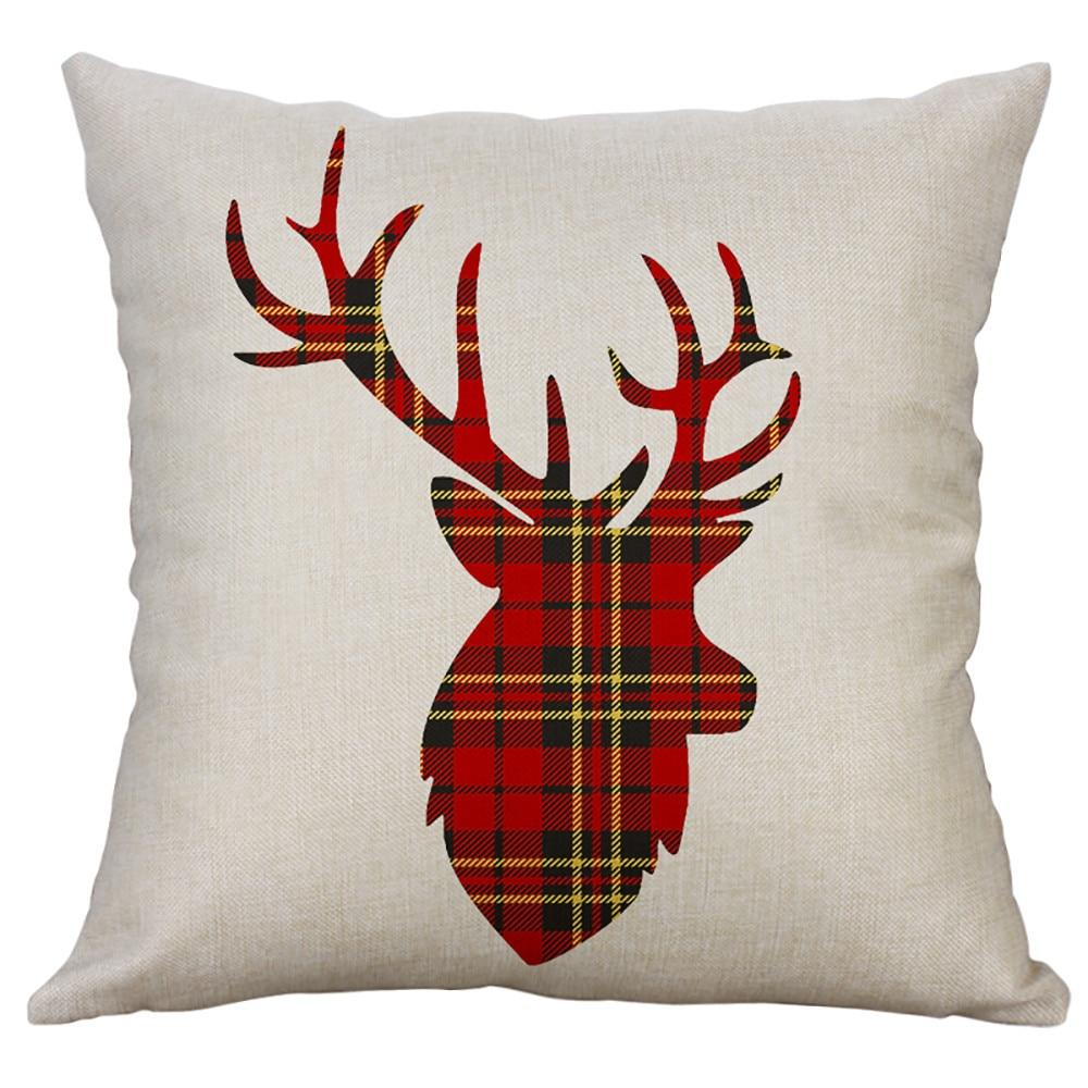 RED Christmas Pillow Cover | Snowflake Pillow| Gift for Him | Gift For Her | Throw Pillow | 18 x 18 Pillow | Home Decor | Boyfriend Gift