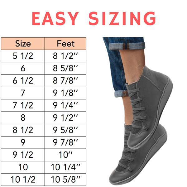 EASY Premium Orthopedic Lace-Up Ankle Boots