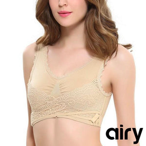 CARA LIFT Full-Figure Plus-Size Seamless Wirefree Lift Support Bra, All Size Available in 8 colors