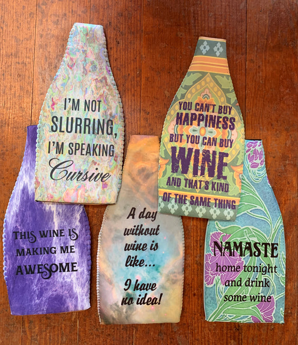 Wine Bottle Insulators