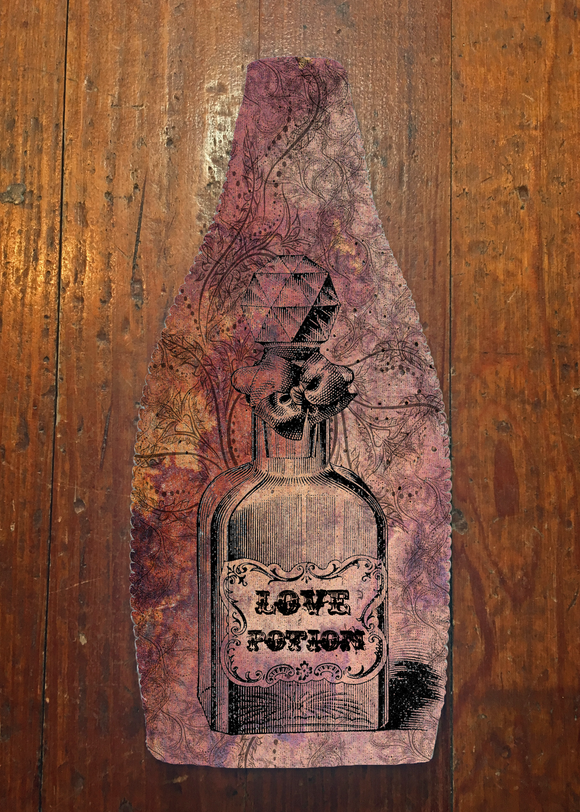 Love Potion - Wine Bottle Insulator