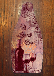Que Syrah Syrah - Wine Bottle Insulator