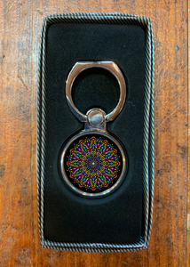 Mandala Cell Phone Ring Stand R10