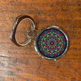 Mandala Cell Phone Ring Stand R15