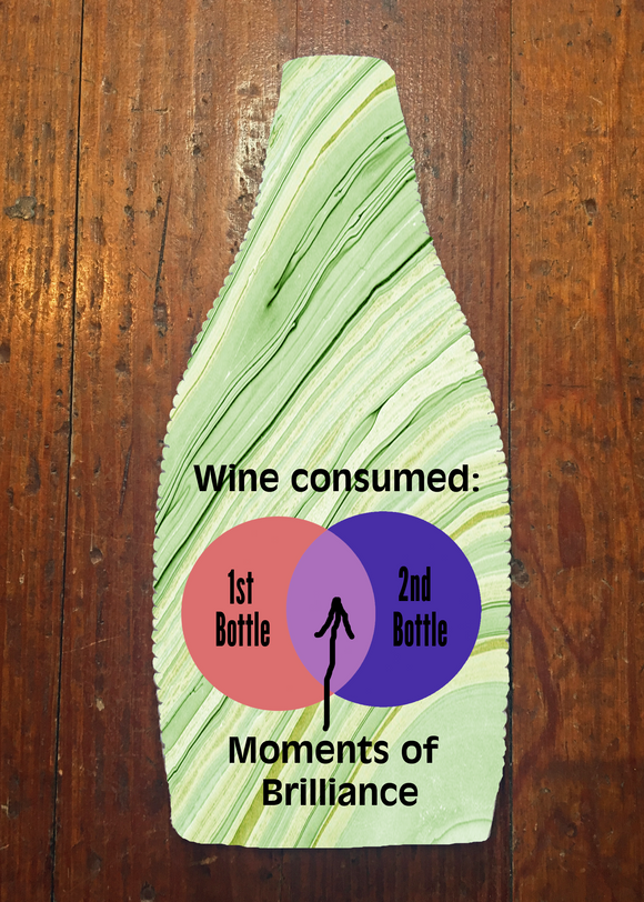Wine Consumed - Wine Bottle Insulator