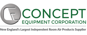 Window Air Conditioners | Concept Equipment Corporation